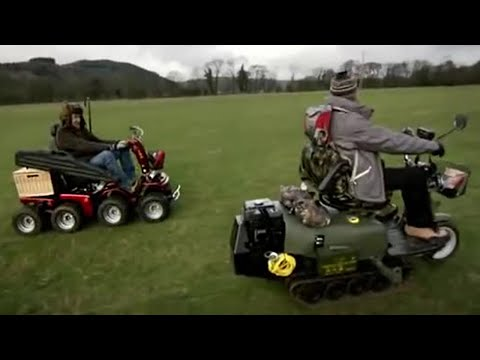 Mobility Scooter Off Road - Top Gear - BBC