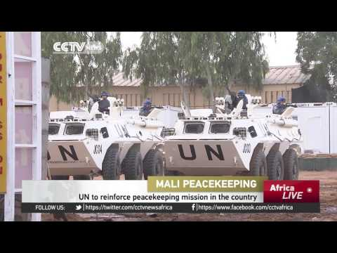 UN to reinforce peacekeeping mission in Mali