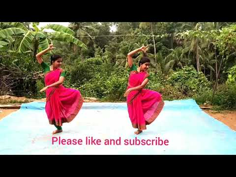 Indian traditional dance by twins