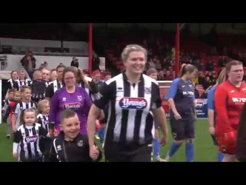 Grimsby Town Women's First-ever Game At Blundell Park.