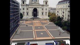 מיזוג סביבה היסטורית עם טכנולוגיה מודרנית - מתקן חניה אוטומטי בבודפשט