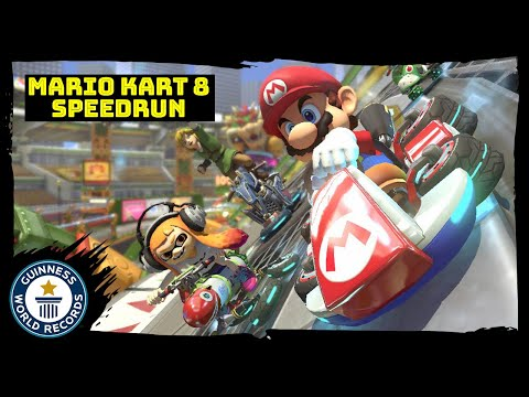 Mario Kart 8: Fastest 32-Track completion - Guinness World Records