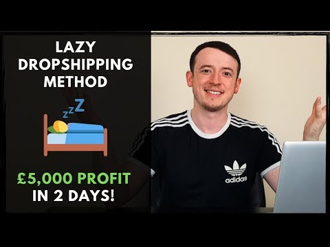 Lazy Dropshipping | £5,000 Profit In Two Days thumbnail