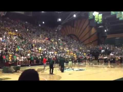 Colorado State University Student Wins Tuition for One Year by Sinking Half Court Shot