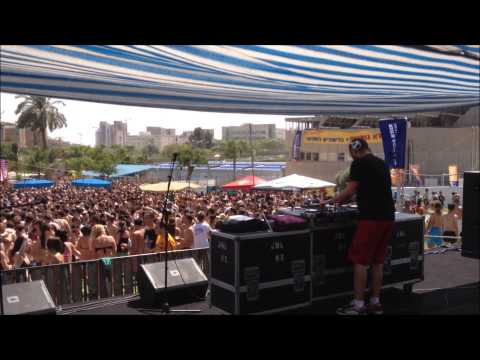 Mike Mor @ Ben Gurion University Students Day Pool Party 21.05.13