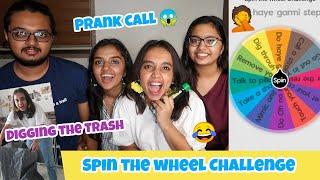 Spin the Wheel Challenge 🌝|1 spin=1 Challenge |gopsvlog