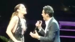 Jennifer Lopez and Marc Antoni No Me Ames live