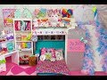Doll Rainbow Bunk Bed Slide its JoJo Siwa ~ New Bedroom Epic Room Tour!