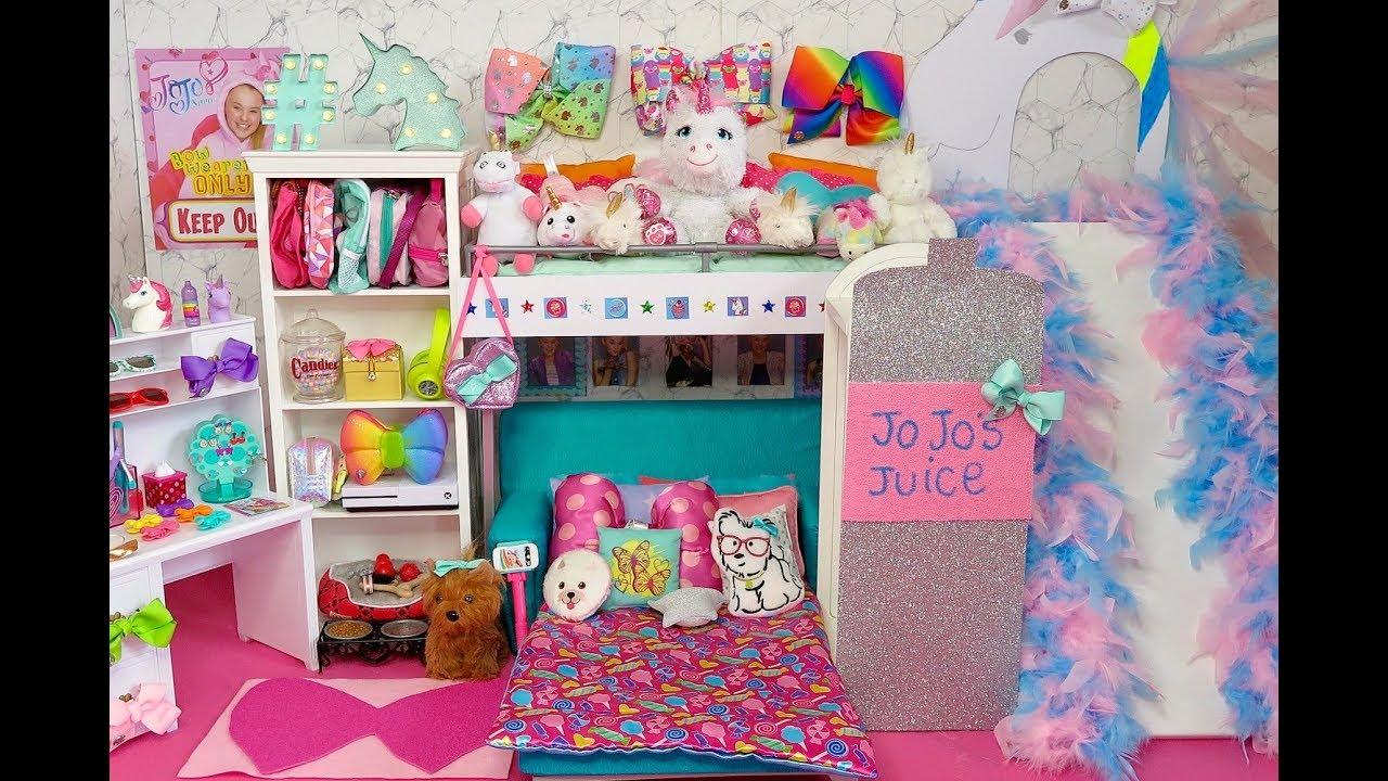 Doll Rainbow Bunk Bed Slide Its Jojo Siwa New Bedroom