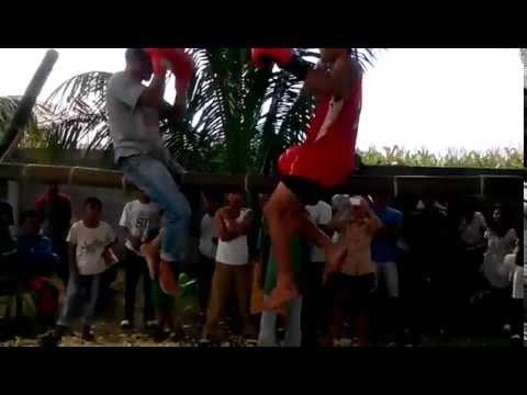 GAGAMBOXING@barangay gLamang Polomolok south cotabato