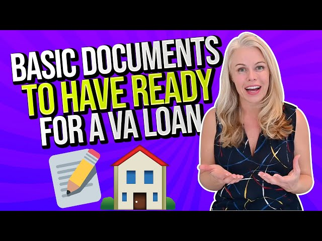 VA Wednesday: What Real Estate Documents You Need To Be Approved For a VA Mortgage In 2021 🏠