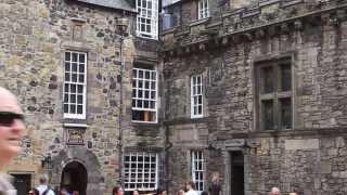 Edinburgh, Scotland. Замок Эдинбурга(Замок Эдинбурга. Снимать внутри запрещено., 2013-08-17T12:10:25.000Z)