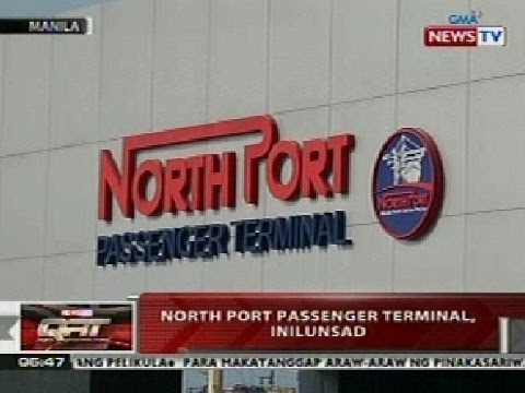 QRT: North Port Passenger Terminal sa Manila, inilunsad