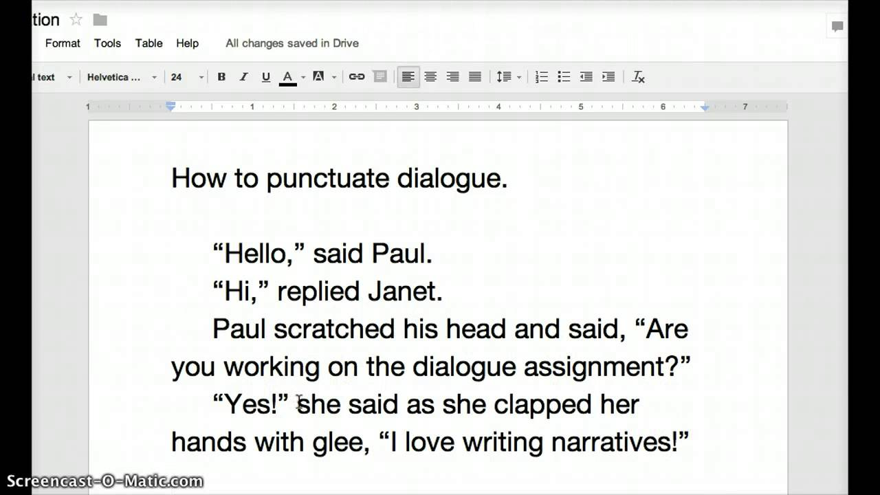 how to punctuate dialogue how to punctuate dialogue