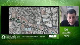 """Experiencia Internacional Parque Inundable ¨La Aguada"""", Santiago de Chile/ Foro Sostenibilidad 2021"""