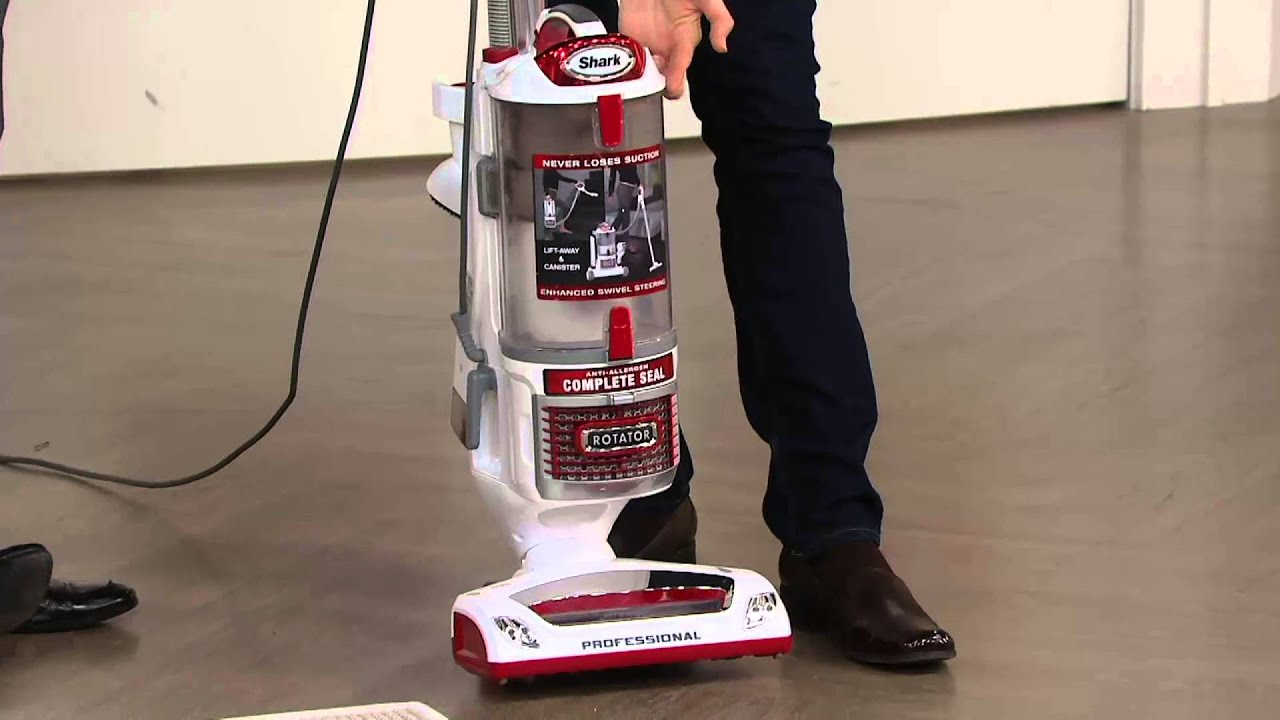 shark rotator liftaway upright vacuum w5 attachments on qvc youtube