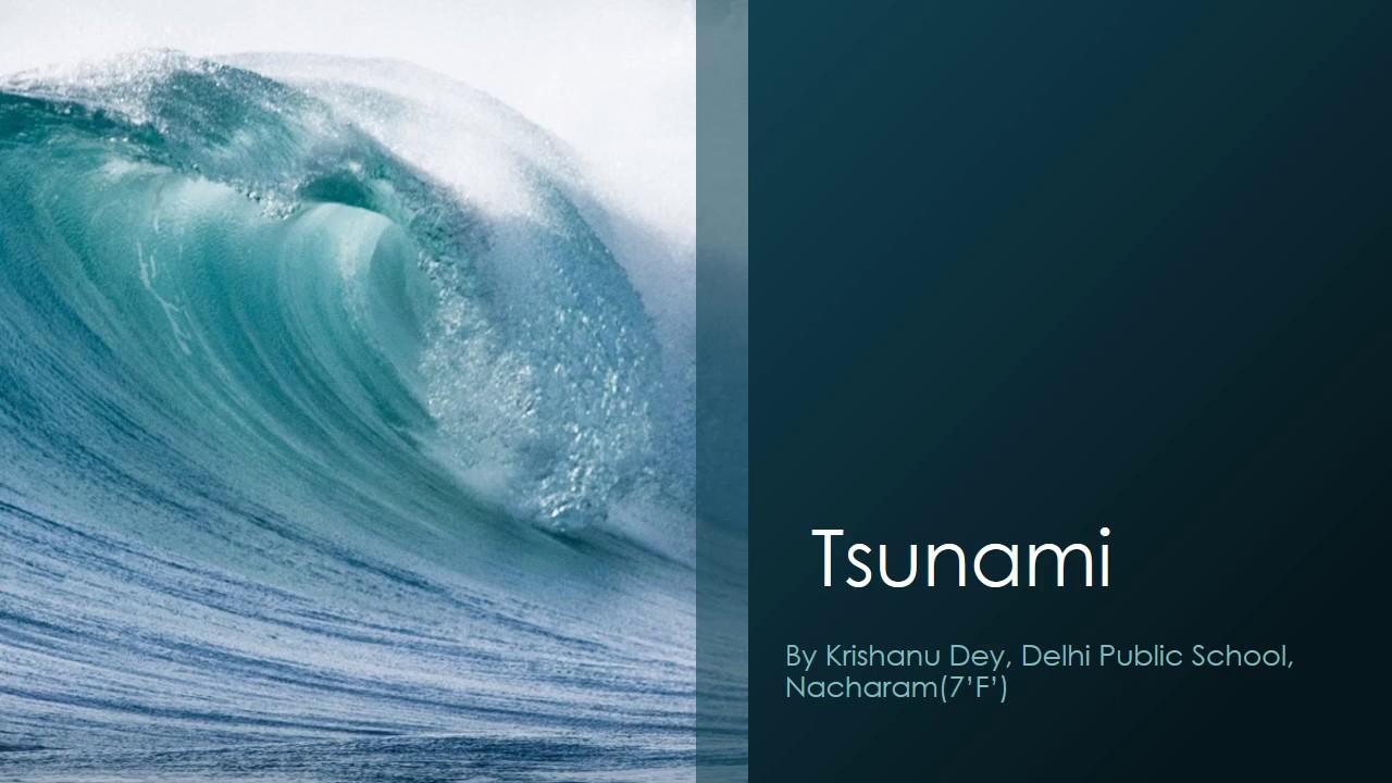 Tsunami Präsentation