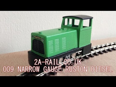 2A-RAIL.CO.UK 009 Ruston Diesel Locomotive with TomyTec HM-01 Chassis