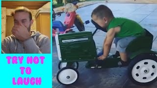 TRY NOT TO LAUGH - Funny Kids Fails Compilation 2016 + Facecam