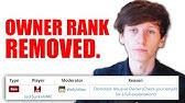 How To Unban On Discord YouTube - Minecraft gebannte spieler entbannen