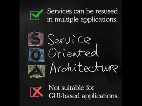 Advantages and Disadvantages of Service oriented Architecture SOA