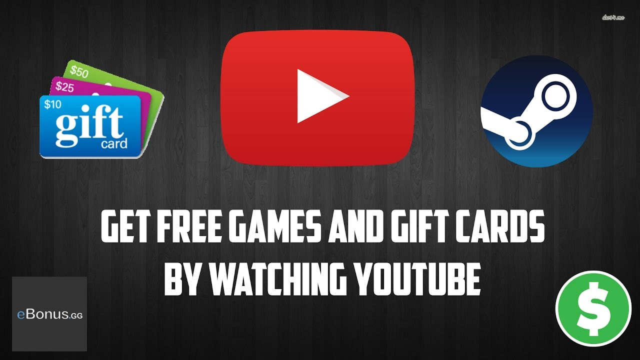 earn free gift cards by watching videos