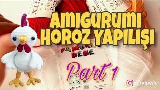 Amigurumi Zürafa Yapımı : Amigurumi zürafa yapımı bölüm sevimli zürafa kafa yapılışı