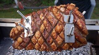 Сочная свинина на вертеле(шашлык). Рецепт от Жоржа