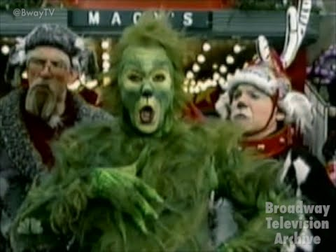 Patrick Page, John Cullum  HOW THE GRINCH STOLE CHRISTMAS medley Macy's Thanksgiving Parade 2006