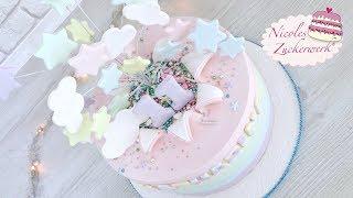 Explosionstorte I Star Burst Cake I Motivtorte zum Geburtstag I Nicoles Zuckerwerk