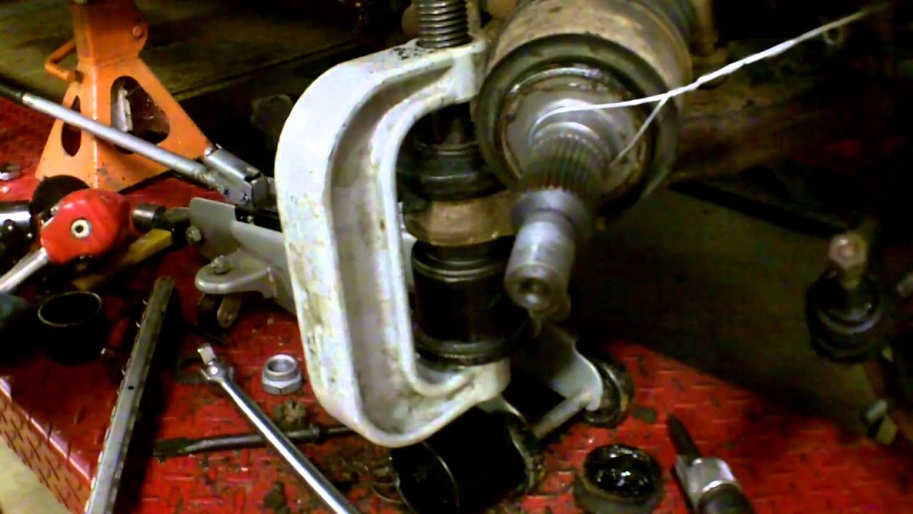 1998 GMC K1500 Upper and Lower Ball Joint Replacement ...