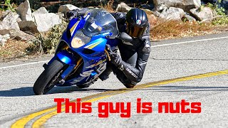 GSXR1000 has no chill !!