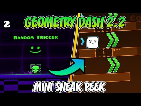 !NUEVA MINI SNEAK PEEK DE GEOMETRY DASH 2.2! ¿POR FIN TERMINADO?