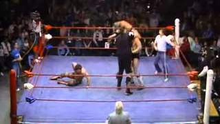 Rick Rude & One Man Gang vs. Bruiser Brody & Missing Link