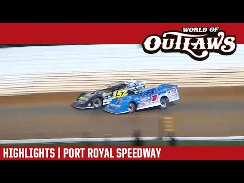 World of Outlaws Craftsman Late Models Port Royal Speedway August 18, 2018 | HIGHLIGHTS