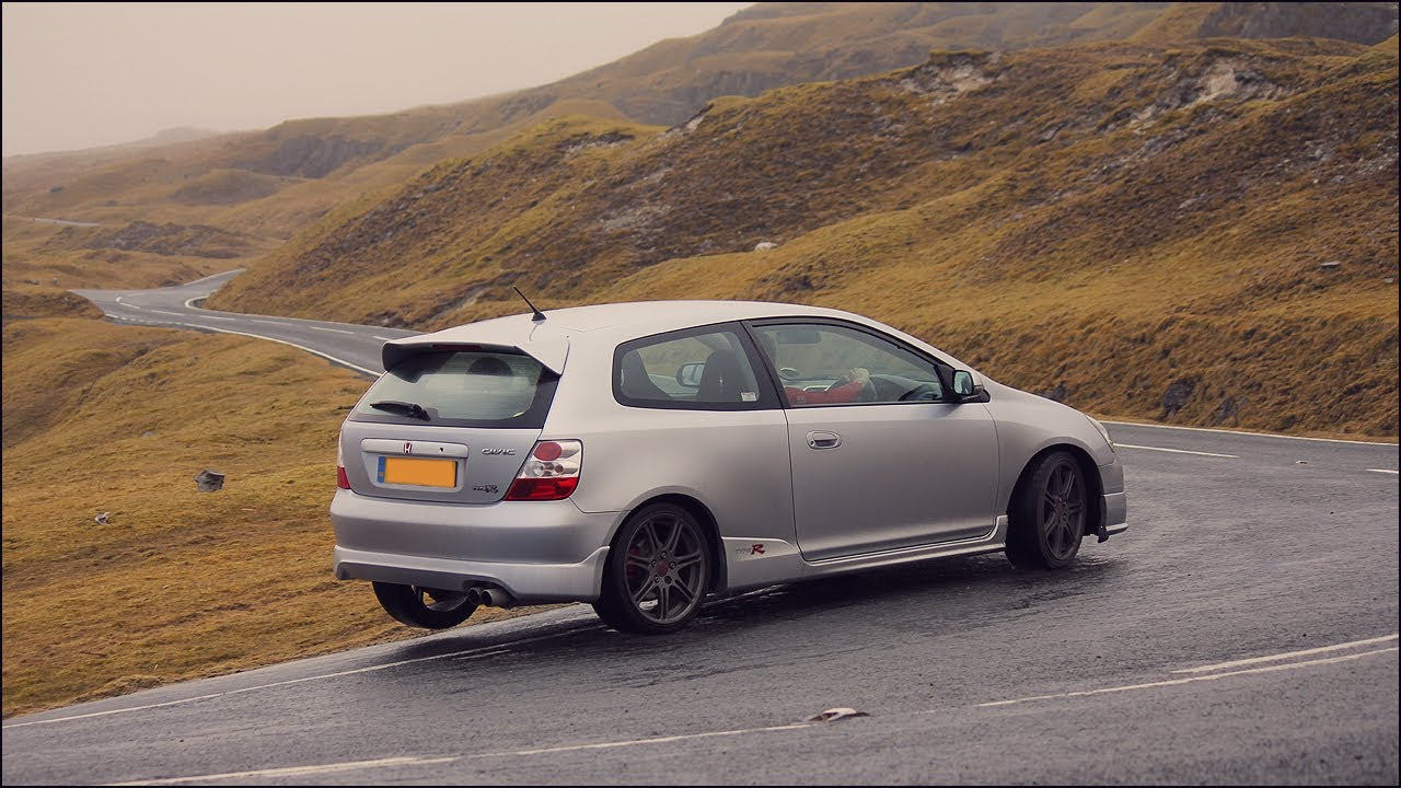 honda civic type r on the a4069 black mountains youtube. Black Bedroom Furniture Sets. Home Design Ideas
