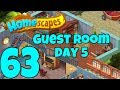 HOMESCAPES - Gameplay Walkthrough Part 63 - Robbie's Guest Room Day 5