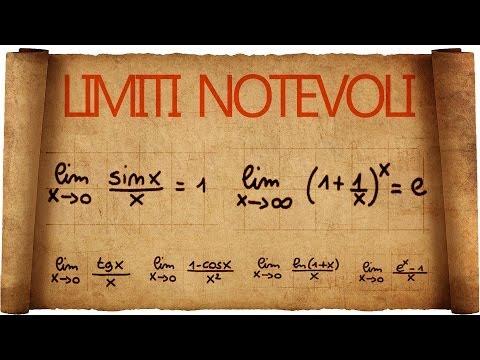 Limiti Notevoli : Introduzione E Primi Esempi ;)