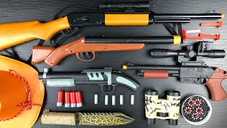 Shotguns ! Double Bareled Guns - Cowboy Weapons - Bullet Throwing Cowboy Guns