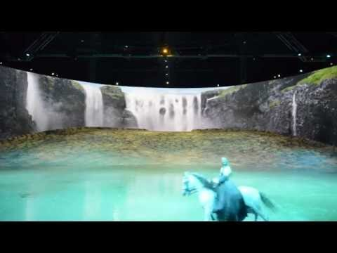Cavalia Odysseo: Waterfall by The Dallas Telegraph