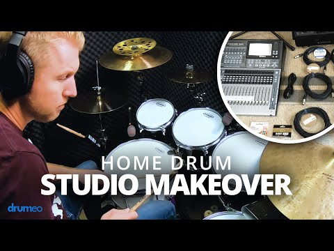 Setting Up My Home Drum Studio (Jared Falk)
