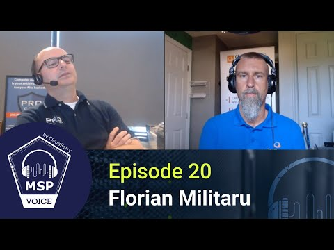 MSP Voice #20: How Do You CRM? Florian Militaru From PRO