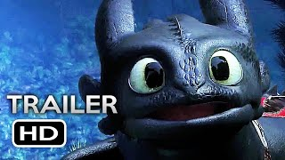 HOW TO TRAIN YOUR DRAGON 3 Official Trailer 2 (2019) The Hidden World Animated Movie HD
