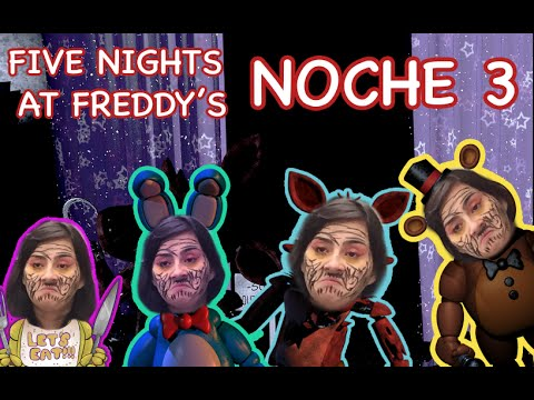 5 Nights at Freddy´s, NOCHE 3 - Gameplay / SandyCoben