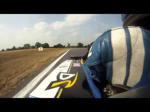 Toby Davis Snetterton 2013 MSA British Superkart Grand Prix (250 Nationals)