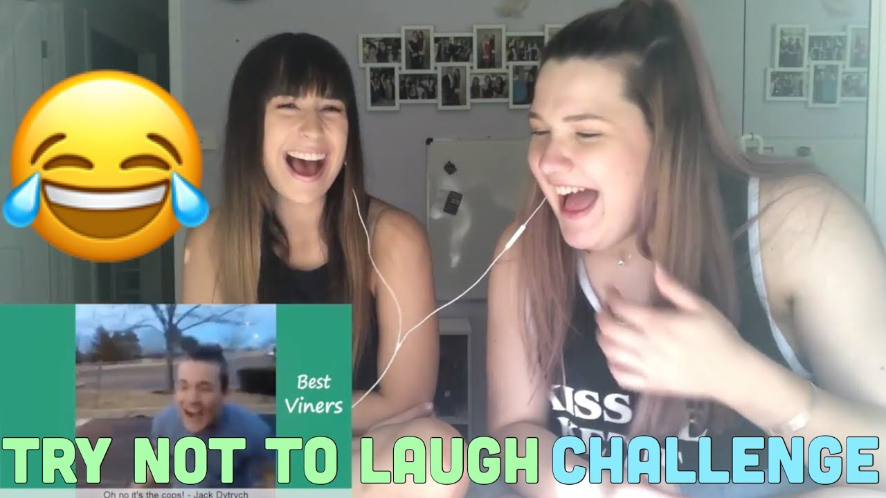 TRY NOT TO LAUGH CHALLENGE FEAT. DELANEY
