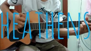 Twenty One Pilots - Heathens - Fingerstyle Guitar Cover | HienID