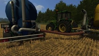 How to use Zunhammer manure mod Farming Simulator 2013