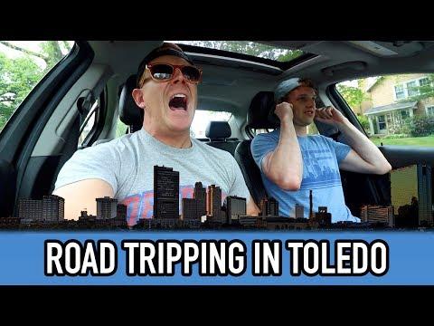 Road Trip to Toledo   Full Eating Teaser Vlog   Summer 2017