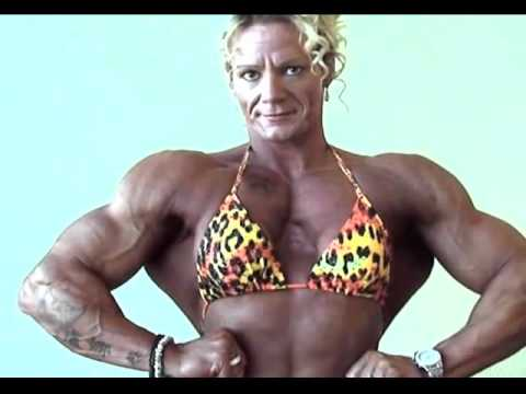 Nataliya Trukhina: Young Female Bodybuilder With HUGE Traps from YouTube · Duration:  43 seconds